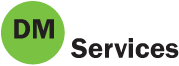 DM SERVICES logo